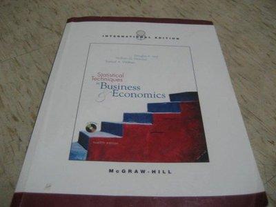 Statistical Techniques in Business & Economics --第十二版/ ISBN:0071113150