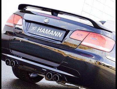 國豐動力 BMW E93 M3 HAMANN正廠原裝尾翼 限量一套 特價出清 歡迎洽詢