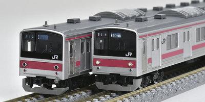 [玩具共和國] TOMIX 98443 JR 205系通勤電車(前期車・京葉線)増結セット(5両)