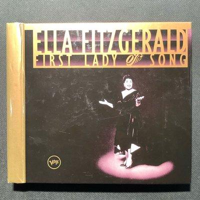 Ella Fitzgerald艾拉費茲傑拉/First Lady of Song爵士第一夫人的歌 德國版3CD