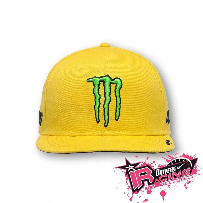 ♚賽車手的試衣間♚ VR46 Rossi 2016 sponsor adjustable trucker 網帽 賽車帽