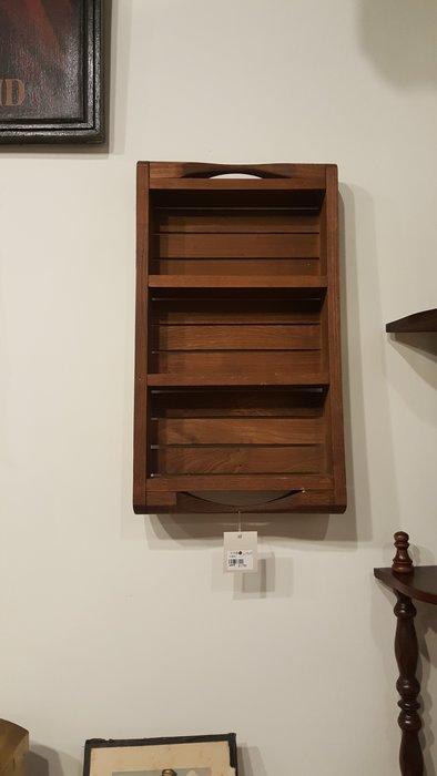 【卡卡頌 OMG歐洲跳蚤市場 / 西洋古董 】歐洲 老件 三層 木掛架 w0035✬