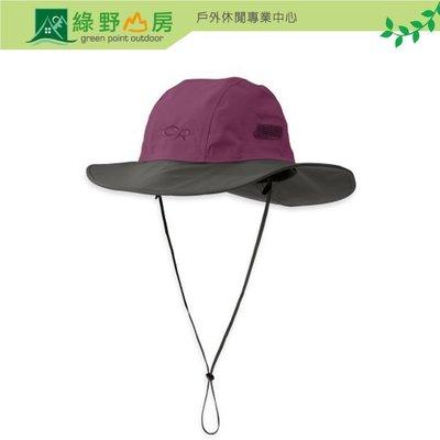 綠野山房》OUTDOOR RESEARCH 美國 OR Seattle Gtx 防水大盤帽 圓盤帽 紫/灰 82130