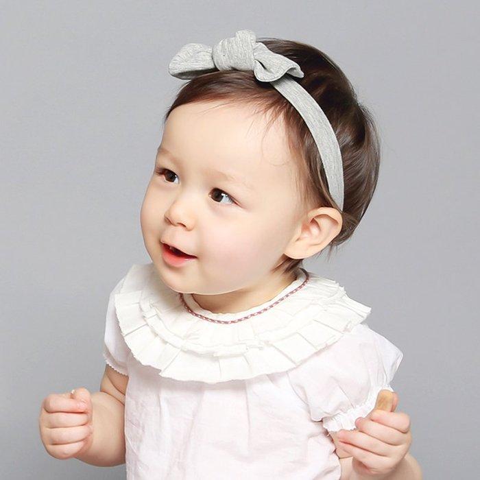 ☆草莓花園☆B37柔軟純棉蝴蝶結髮帶 百天照頭飾 嬰兒髮帶 髮冠 皇冠 造型周歲照 藝術照