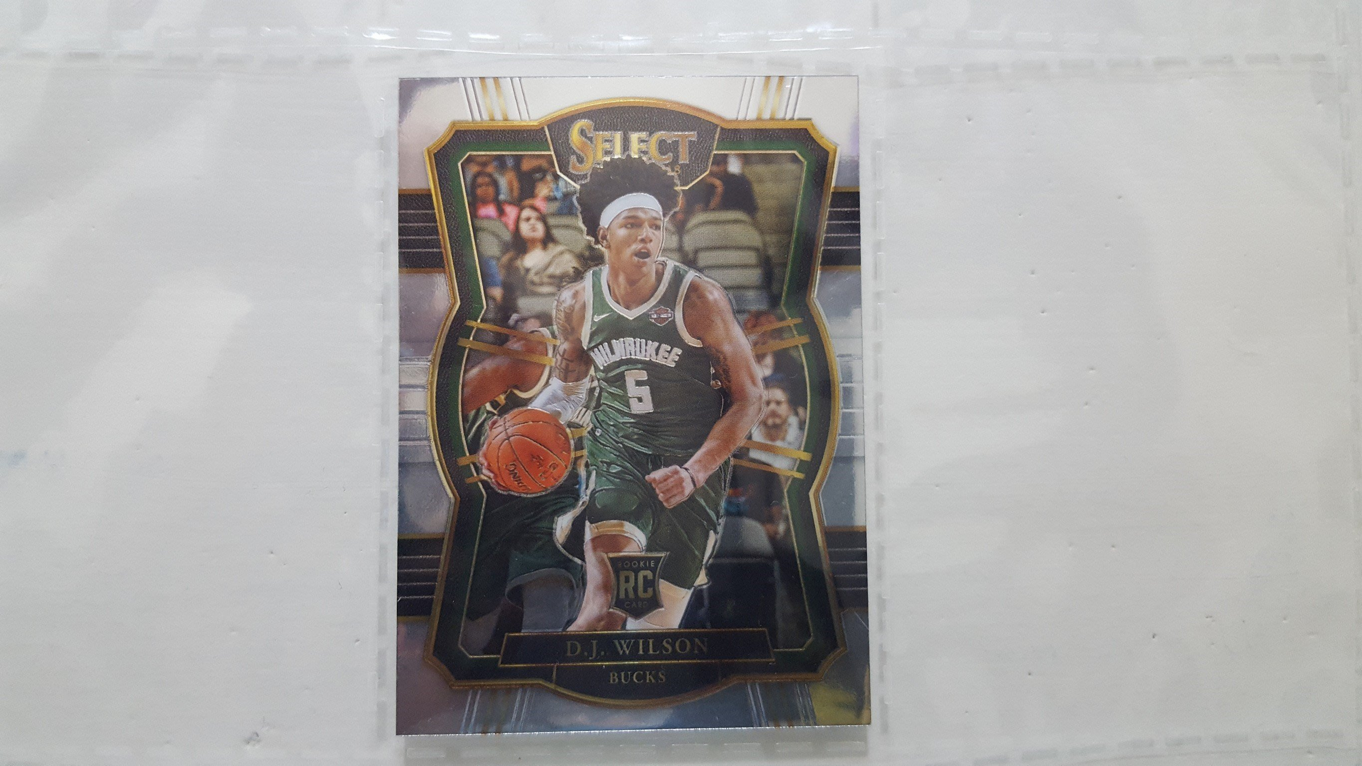 2017-18 NBA SELECT  公鹿  D.J. WILSON