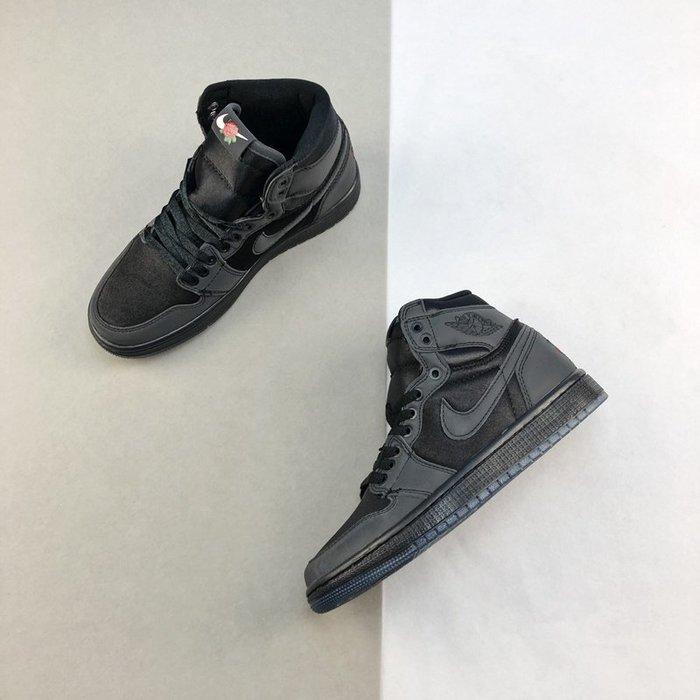 """Nike Air Jordan 1 """"Rox Brown"""" 情人節玫瑰花 情侶鞋BV1576-001"""