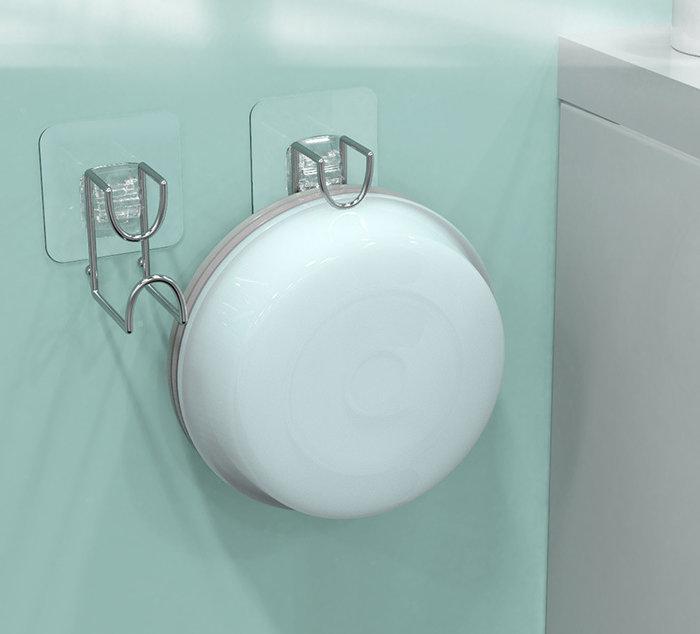 海馬寶寶 多功能掛勾 免釘黏貼式掛勾 臉盆掛勾 不鏽鋼掛勾 衛浴廚房掛勾