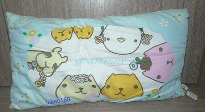 日本帶回水豚君XL長型枕頭 抱枕組[ 開學趣出清大特價 ]
