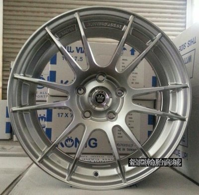全新鋁圈 KONIG KN-05 19吋鋁圈 高亮銀 5/114.3 5孔114.3 美國品牌