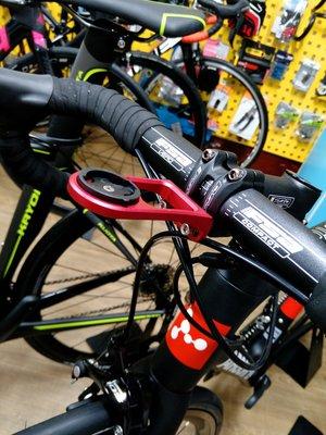 ~騎車趣特價~低風阻鋁合金碼表延伸座 適用Bryton 100 310 330 530