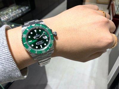 Rolex 勞力士 綠水鬼 原裝正貨連鎖實體店驗貨購買