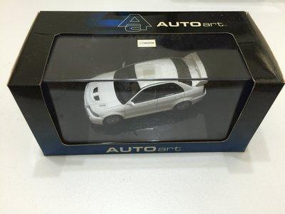 Autoart MITSUBISHI LANCER EVOLUTION VI (WHITE)