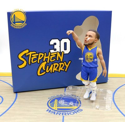 NBA Golden State Warriors 金州勇士Stephen Curry Q版5吋Figure