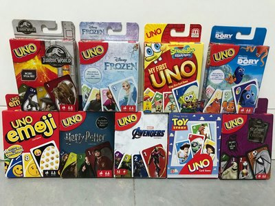 UNO card games(有16款)