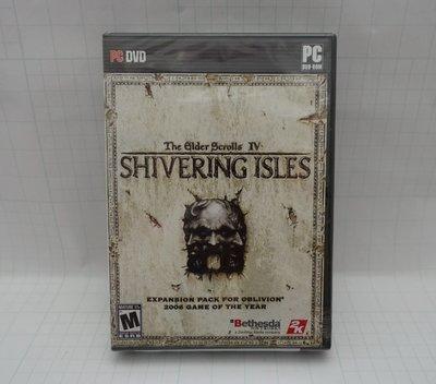PC 電腦遊戲 美版 The Elder Scrolls Shivering Isles 上古卷軸 4 戰慄孤島 全新