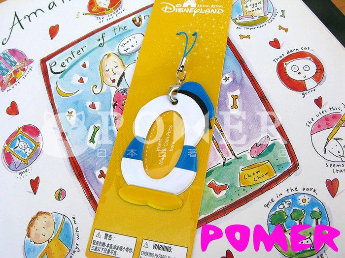 ☆POMER☆香港迪士尼樂園 絕版正品 可愛 唐老鴨 意象 水手服 可以裝照片 手機吊飾 掛飾 生日禮物 聖誕節 情人節