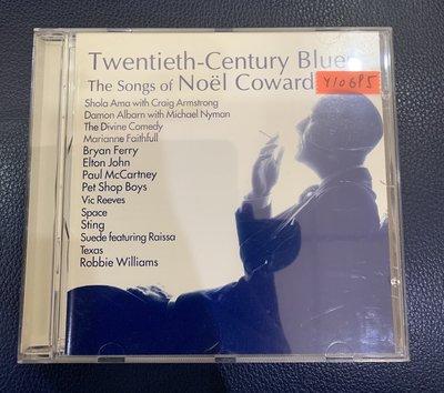 *還有唱片行*TWENTIETH-CENTURY BLUES NOEL COWARD 二手 Y10695