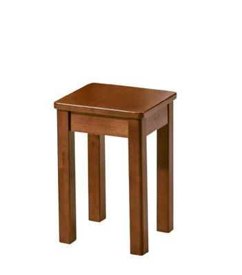 【南洋風休閒傢俱】餐廳家具系列- 柚木色單人板凳 用餐椅 等待椅 (金623-10)