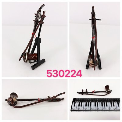 迷你京胡木製樂器模型 mini wooden musical instrument Jinghu figure model toy