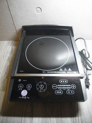 二手- 一品夫人多功能電陶爐 CA-653 可做鐵板燒料理和燒烤 鐵板燒多功能健康爐 電磁爐  黑晶爐  不挑鍋