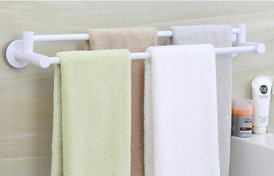 YEAHSHOP 毛巾架 桿毛巾架吸盤式壁掛浴室衛生間毛巾Y185