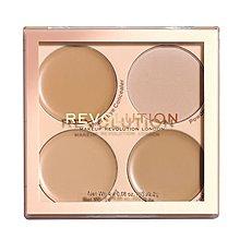 英國直送Makeup Revolution Revolution Matte Base Concealer Kit C5-C8 Medium色系遮瑕盤