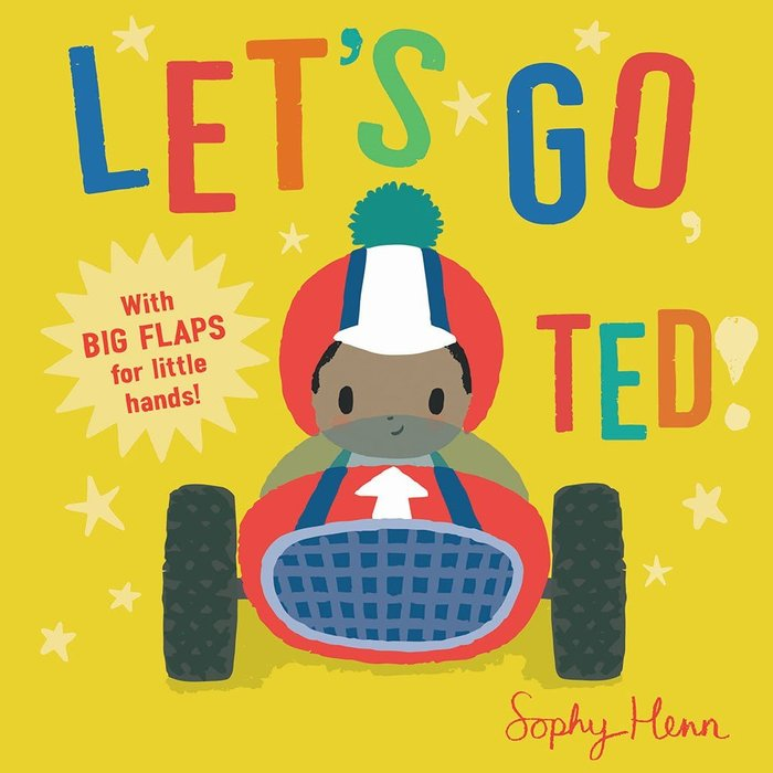 *小貝比的家*LET'S GO, TED/硬頁/3~6歲/主題書