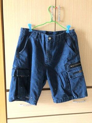 Reputation 藍色短褲