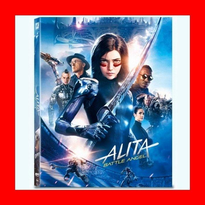 【4K UHD】艾莉塔:戰鬥天使UHD+3D+2D三碟限量幻彩盒鐵盒版(台灣繁中字幕)Alita