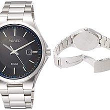 日本正版 SEIKO 精工 WIRED AGAD402 男錶 男用 手錶 太陽能充電 日本代購