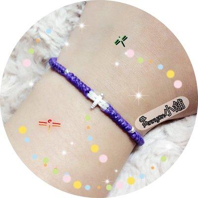 Annyon小舖~手作蠟線編織+++HandMade+++925純銀天空小霸王蜻蜓dragonfly拉繩式手鍊