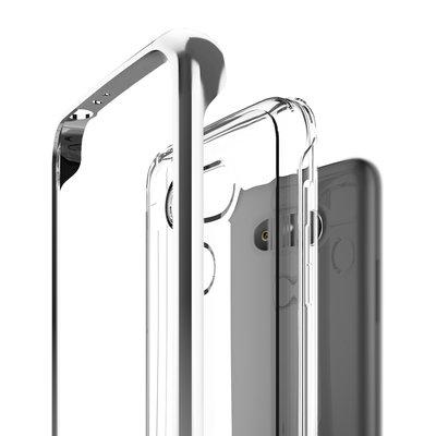 全新 Caseology Skyfall LG G5 防摔 雙層 手機殼 保護套 銀邊框 透明