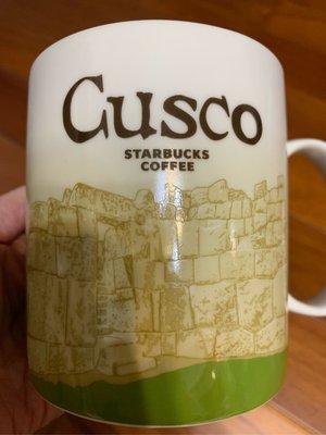 星巴克Starbucks 城市杯Cusco 秘魯/庫斯科 16oz 印加古文明遺址
