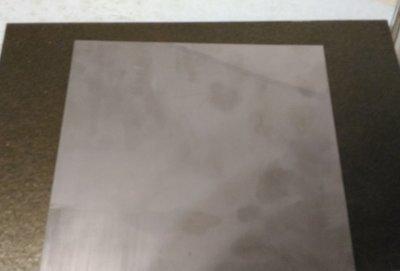 304 白鐵板 10公分*10公分 厚0.5mm 磁鐵不會吸住