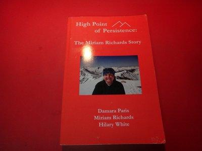 【愛悅二手書坊 32-08】High Point of Persistence