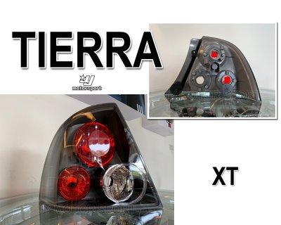 小傑車燈精品--全新 TIERRA XT 版 黑框 後燈 尾燈 一顆850元 SE.RS.LS 可裝