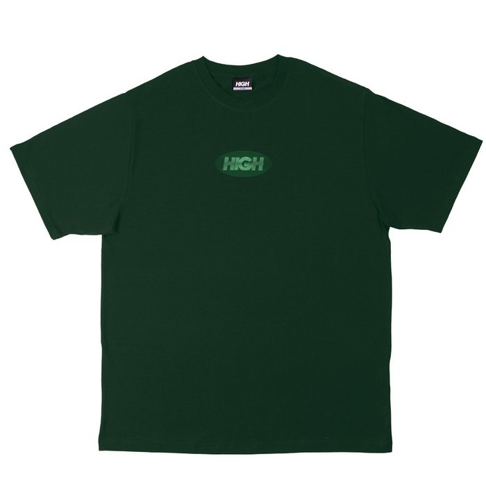 High Company - Visual Logo Green 墨綠色 短TEE 現貨販售