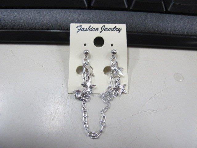 二手舖 NO.4512 時尚造型耳環 耳針 耳鉤 便宜賣 首飾飾品