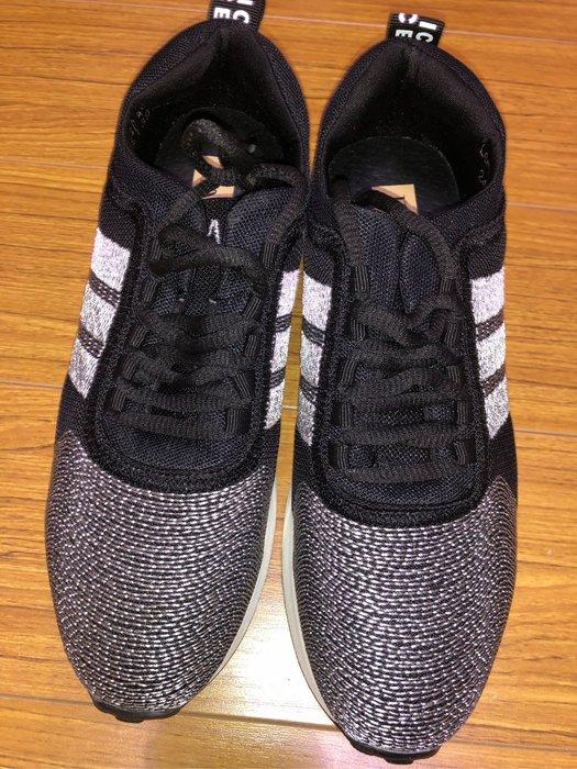 國外帶回黑白綁帶球鞋size:24.5
