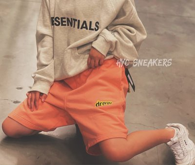 [HYC] DREW HOUSE 橘色 短褲 SIZE : M*8 全新❗️