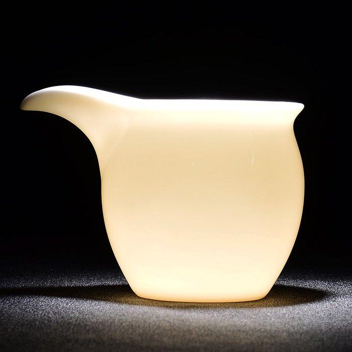 SX千貨鋪-德化白瓷公道杯羊脂玉瓷茶海茶漏套裝分茶器陶瓷功夫茶具配件茶盅#玻璃杯#酒杯#水杯#茶杯#杯子套裝
