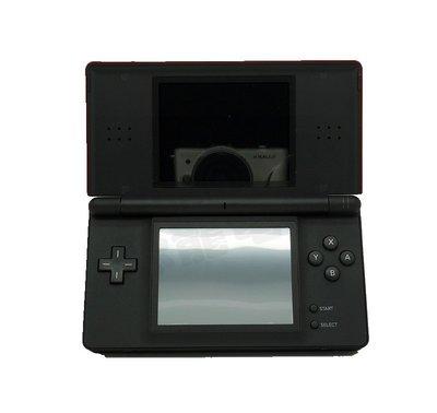 【二手主機】任天堂 Nintendo DSL NDSL 黑紅色主機 附充電器【台中恐龍電玩】