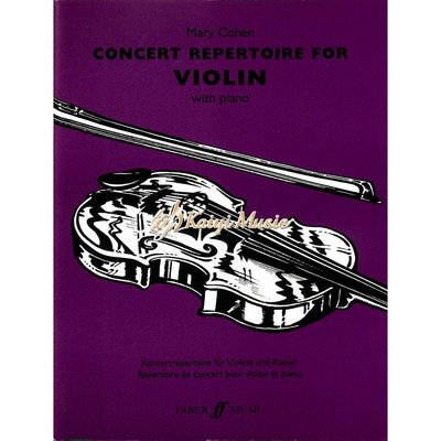 Kaiyi Music ♫Kaiyi Music♫Concert repertoire for violin with piano