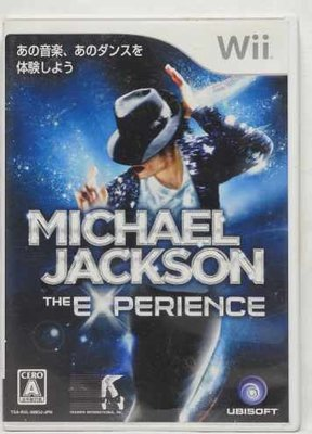 日版 Wii MICHAEL JACKSON THE EXPERIENCE
