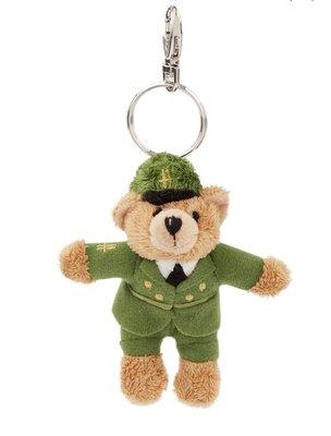 《Amys shop 》Harrods 超可愛綠色郵差/風笛手/警察/皇家衛兵/衛兵小熊鑰匙圈~現貨