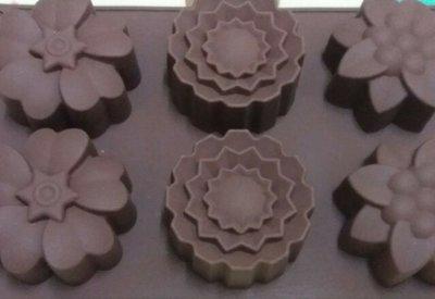 大量款式蛋糕矽膠模 朱古力模 皀模 3-10元 清倉