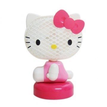 41+現貨免運費 Hello Kitty 凱蒂貓 桌上 迷你電風扇 粉跟紅兩色可選 GIFT41 小日尼三