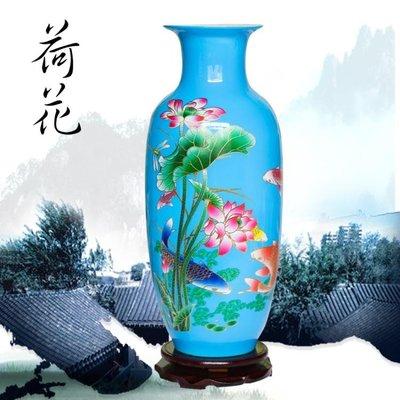 陶瓷花瓶插花器現代簡約家居客廳裝飾品中國紅彩色水培擺件 WD    全館免運