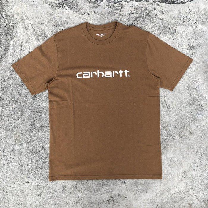 ☆LimeLight☆ Carhartt S/S Script T-Shirt 短T 駝色