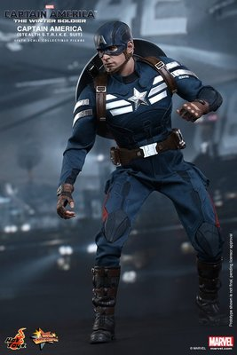 HOTTOYS MMS242 Captain America 美國隊長 Winter Soldier STEALTH S.T.R.I.K.E 潛行版